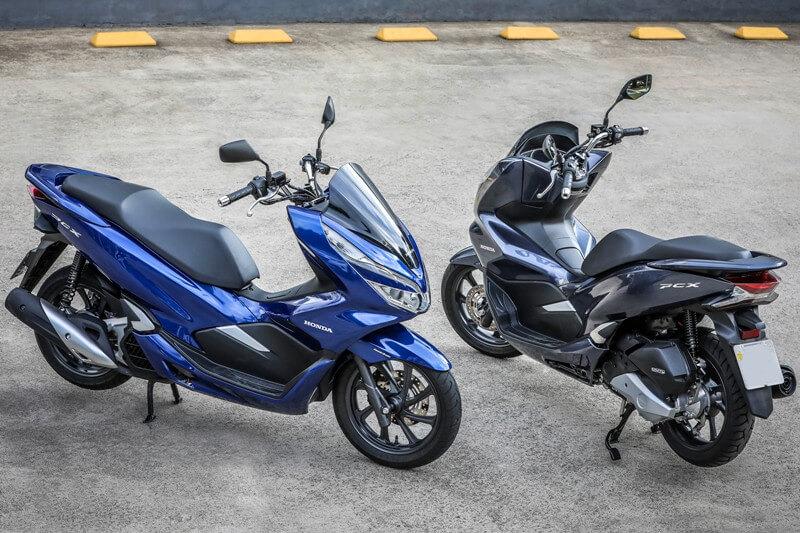 PCX e Elite são os scooters mais vendidos de 2020