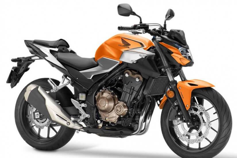 Linha Honda CB 500 2020