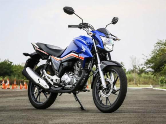 Honda tem sete das dez motos mais emplacadas no país