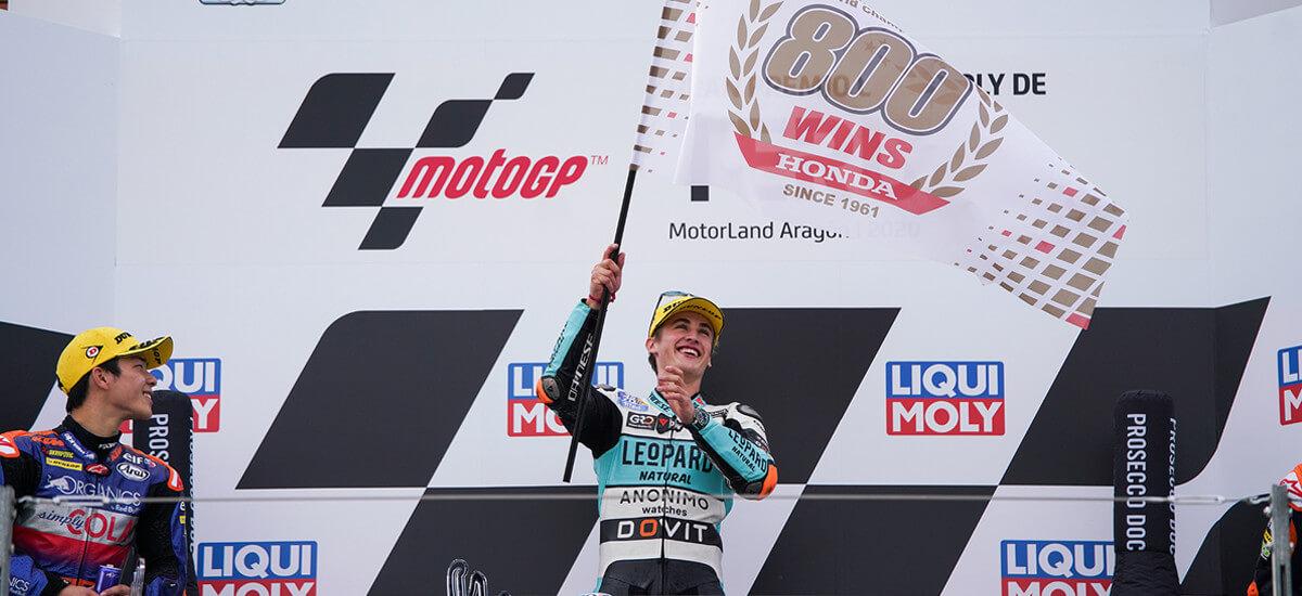 Honda conquista a 800ª vitória no Mundial de Motovelocidade