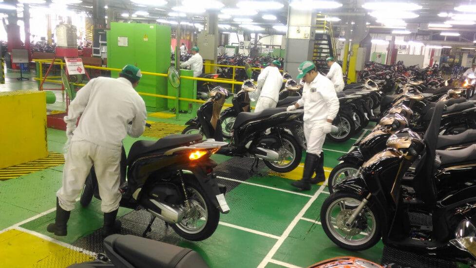 Maior fábrica da Honda no mundo fica no Brasil