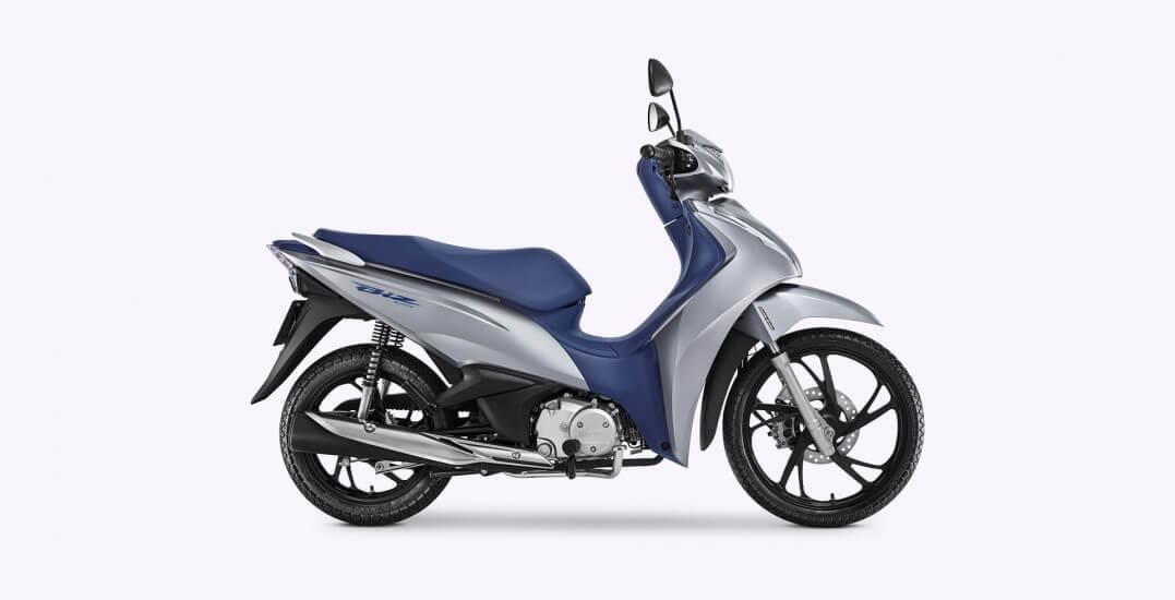 Honda Biz 125 2020 ganha novas rodas e cores